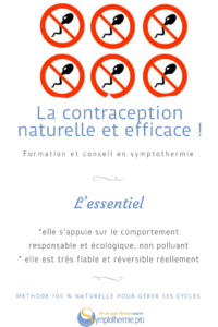 symptothermie contraception ecologique naturelle efficace fiable
