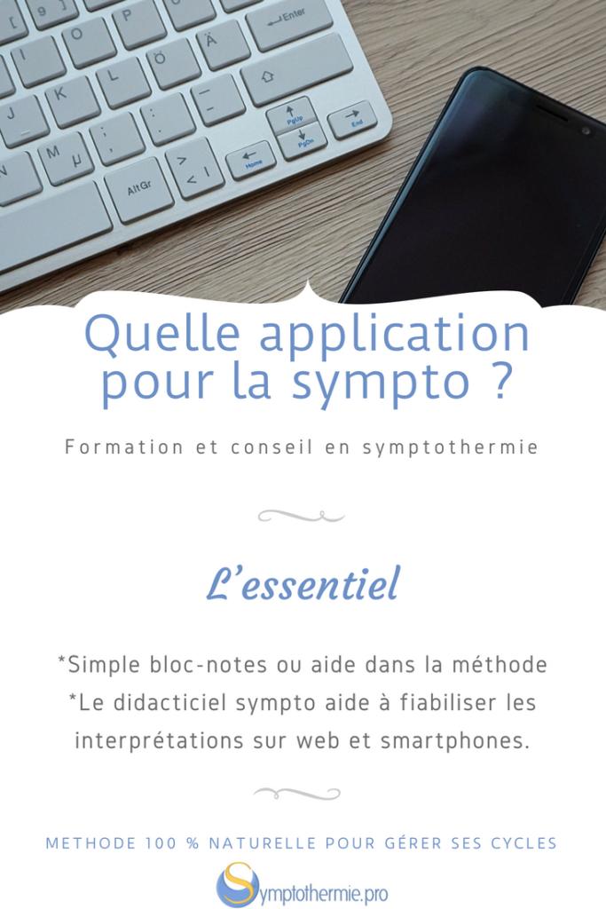choisir application symptothermie